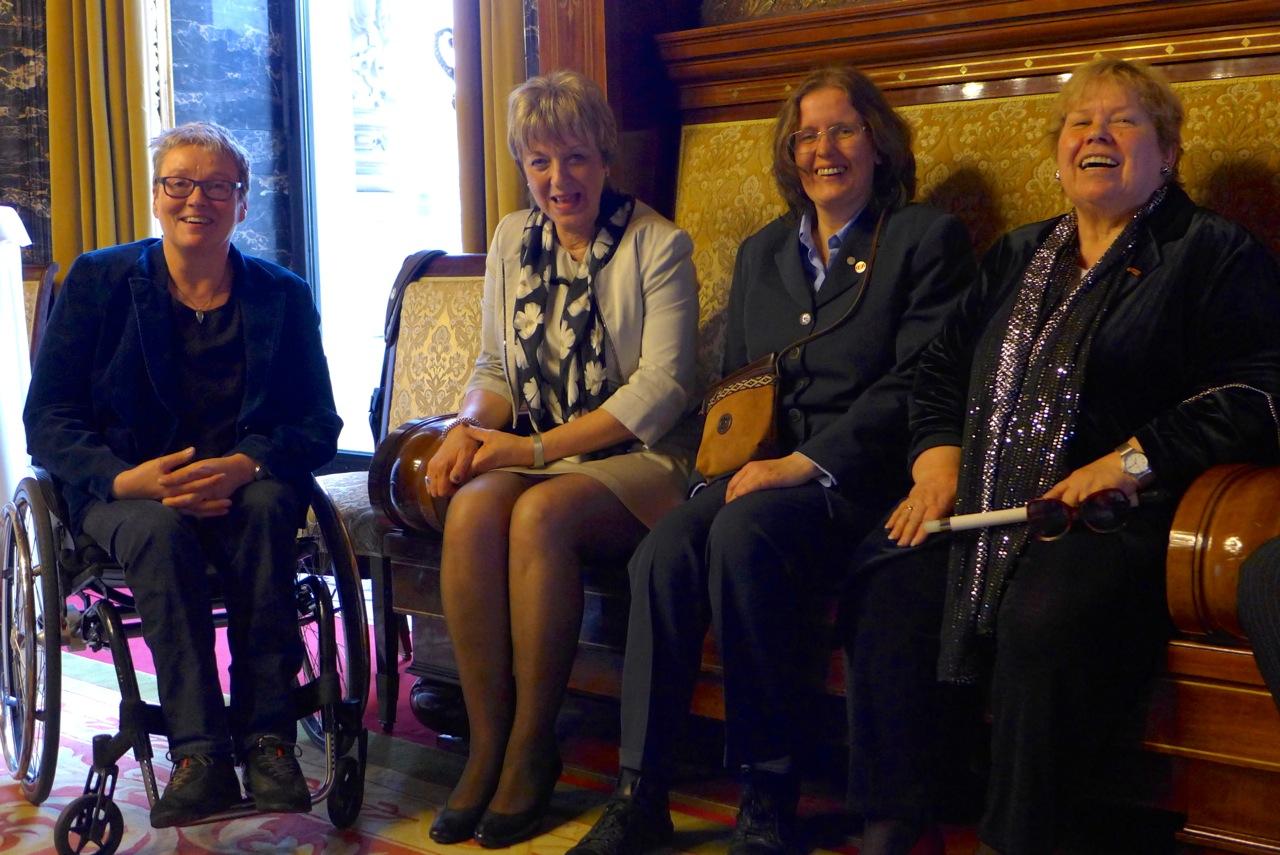 Kerstin Hagemann, Hedwig François-Kettner, Roswitha Kiers, Hannelore Loskill