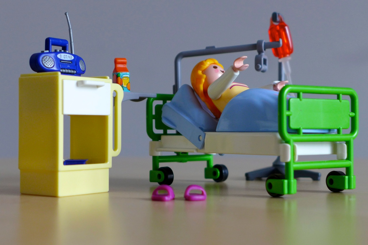 Playmobil im Krankenhaus