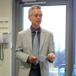 Herr Mecke, Vertreter des Inklusionsbüros Hamburg