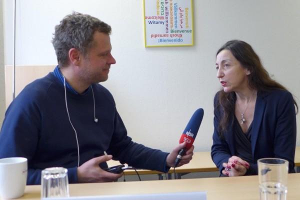 Jörn Strähler-Pohl im Interview mit Frau Vértes-Schütter