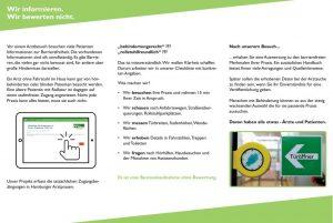 Flyer zur Suche von Arztpraxen, S. 2