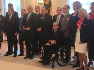 Kerstin Hagemann bei der Verleihung